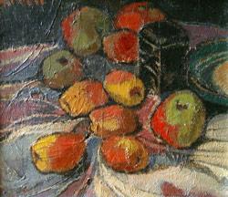 Stillleben mit Früchten von Maria Hiller-Foell