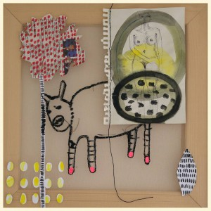 Animalisches I, 2016 Birgit Herzberg-Jochum
