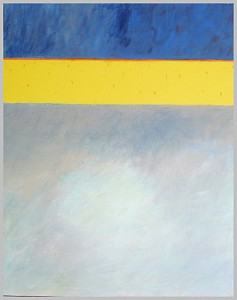 o.T. Acryl/Lack/LW (017) 100 x 80 cm, Elke Lang-Müller