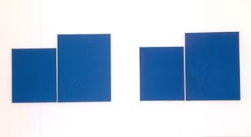 Ohne Titel, Öl auf Leinwand, 2-teilig, 50cm x 120cm, 2006, Leni Marx