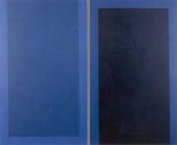 Farben der Erinnerung, Nr. 31, 2-teilig Acryl auf Leinwand, Leni Marx