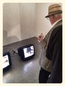 Paare in der Kunst I, BBK Atelierhaus Video/Regine Schaupp Foto: Yvonne Rudisch