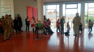 Foto: Birgit Herzberg-Jochum Rathaus Stuttgart 4 Künstlerinnen