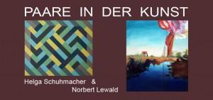 BBK Reihe: Paare in der Kunst: Helga Schuhmacher & Norbert Lewald