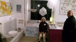Iris Flexer in ihrem Atelier