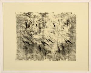 Ellen Eckel o.T. Monotypie 73 X 58 cm