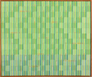 "Helga Schumacher, ""Tell me all"", Öl auf Köper, 42X50 cm"