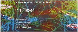 Iris Flexer - Offenes Atelier 2018