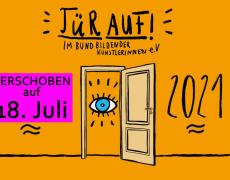 tür auf! am 18.7.21!